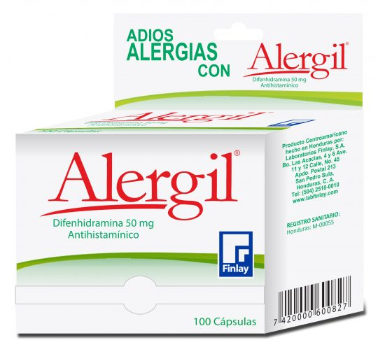 Alergil-Capsulas