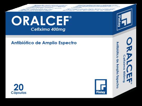 ORALCEF 400mg Capsulas