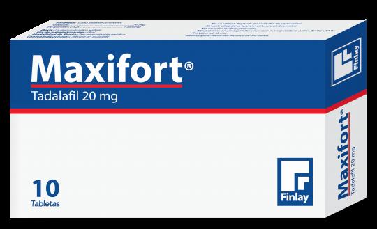 MAXIFORT ESTUCHE 20 MG caja x 10